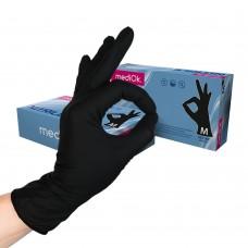 Перчатки нитриловые «MediOk» черные
