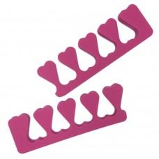 Разделители пальцев «Safety» ярко-розовые