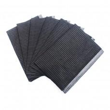 Салфетки ламинированные Euro Standart черные